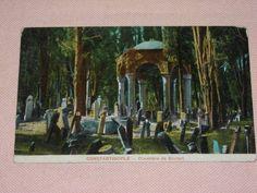 Üsküdarda Mezarlık