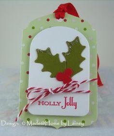 Made @ Home: Christmas Tags 3 & 4