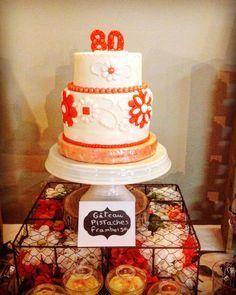 Gâteau bijou corail Coral jewel cake