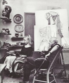 Lydia Corbett, aka Sylvette David, sur sa relation avec Picasso dans un entretien avec Grégoire Jeanmonod.