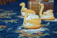Pate Choux pastry Swan