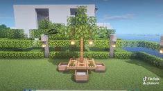 Plantas Do Minecraft, Minecraft Farmen, Minecraft Cottage, Easy Minecraft Houses, Minecraft House Tutorials, Minecraft House Designs, Minecraft Construction, Amazing Minecraft, Minecraft Tutorial