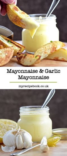 Homemade mayonnaise is really quick and simple to make and tastes delicious.