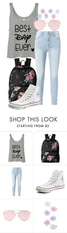 """""""Rapunzel Vibes"""" by forever-inspired ❤ liked on Polyvore featuring Vans, Frame, Converse, LMNT and Monsoon"""