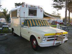 1968 Alaskan Camper  [1968 Chevy C-30 truck]  Milton Newman  San Francisco, California