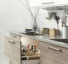 Kök med BROKHULT/VEDDINGE/GREVSTA luckor