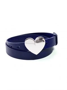 The Bianca Belt in Blueberry