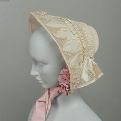 1860's spoon bonnet pattern - Google Search