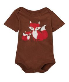 Two Foxes Bodysuit