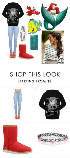 """""""Winter hipster princess"""" by ckelley10 ❤ liked on Polyvore featuring Disney, UGG Australia, Accessorize, Sebastian Professional, women's clothing, women's fashion, women, female, woman and misses"""