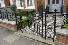 There is a huge range of railings and gates available to suit every property and every taste. Take a look at our website to find out more about the gates we supply and fit.