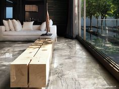 I MARMI DI REX by Rex. Marble Gray Lucido.  Precise and perfect elegance, the I MARMI DI REX line interprets the inheritance of an unaltered past. It rediscovers the intrinsic beauty of a material without pomposity.  - Urban Edge Ceramics, Melbourne