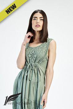 Robe Ibizan Verte 1FashionGlobal 27.40€ HT. A découvrir d'urgence avant d'être épuisé;)