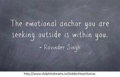 Emotional anchor.