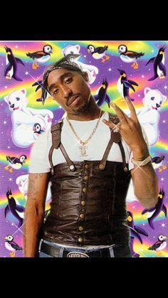 Tupac X Lisa Frank ♡