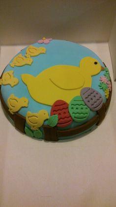 Mona de Pascua mi primera tarta fondant