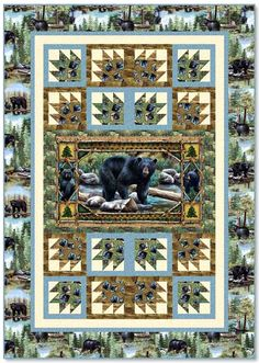 Bear Country Free Quilt Pattern