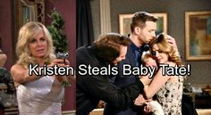 Days of Our Lives Spoilers: November Sweeps - Kristen DiMera Goes After Brady and Theresa's Baby - Wants Tate For Herself