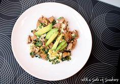 5 Minute Protein-Packed Breakfast Skillet