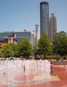 Atlanta after the 2008 hurricane