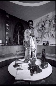 Miles Davis in his house, West 77th Street, New York, 1971_Anthony Barboza