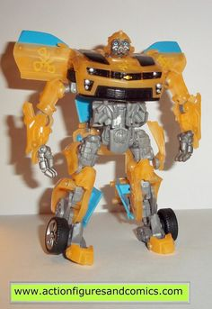 Takara / Hasbro toys TRANSFORMERS movie series action figures for sale to buy 2011 target store exclusive, BUMBLEBEE translucent 100% COMPLETE & includes instructions Condition: Excellent collector qu