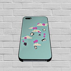 Cute Penguins And Balloons case for iPhone, iPod, Samsung Galaxy, HTC One, Nexus
