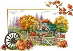 Soul of autumn - cross stitch