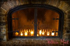 #NVCE ~ fireplace in the Vineyard View Room