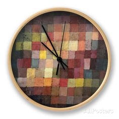Ancient Harmony, c.1925 Clock by Paul Klee at AllPosters.com