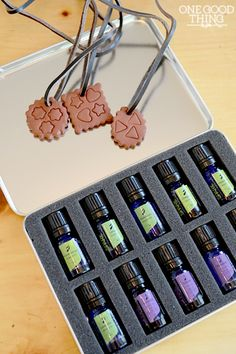DIY Essential Oils Pendant Diffuser - One Good Thing by Jillee