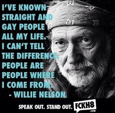 People are people...look beyond sexuality for kindness and compassion.