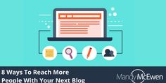 reach people with blog