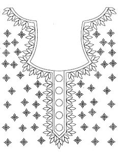 Hi, I uploaded some of the neck designs. Embroidery On Kurtis, Kurti Embroidery Design, Tambour Embroidery, Embroidery Neck Designs, Embroidery On Clothes, Shirt Embroidery, Vintage Embroidery, Ribbon Embroidery, Applique Designs