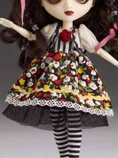 698609c2c9a Especially when one is wearing this fun floral and striped frock with  dainty bolero