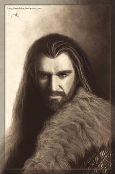 Thorin Oakenshield by ~Werlioka on deviantART