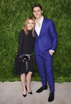 Christy Altomare and Derek Klena attend the Annual CFDA/Vogue Fashion Fund Awards at Spring Studios on November 2016 in New York City. Anastasia Broadway, Anastasia Musical, Broadway Nyc, Broadway Theatre, Musicals Broadway, Theatre Nerds, Music Theater, Christy Altomare, Spring Studios