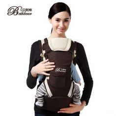 BethBear 8 in 1 Ergonomic Baby Carrier sling 2017 Breathable baby kangaroo hipseat backpacks carriers removeable backpack sling