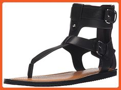 Circus by Sam Edelman Women's Sedona Flat Sandal, Black, 7.5 M US - Sandals for women (*Amazon Partner-Link)