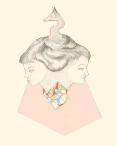 The beast in Mind is an exhibition featuring works by Elise Wessels (featured here) and Tamsin Relly at Salon 91 in Cape Town until the of February Shadow Archetype, South African Art, On The Bright Side, New Print, Hand Painted Ceramics, Archetypes, Album Covers, Photo Art, Illustrators