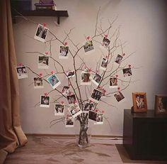 63 ideas gifts christmas diy ideas families for 2019 Home Crafts, Diy And Crafts, Diy Casa, Cute Room Decor, Hanging Photos, Diy Photo, Photo Displays, Christmas Diy, Bedroom Decor
