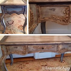 Distressed French Desk