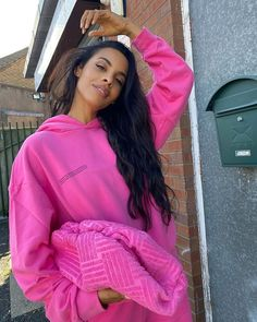 Pop • Instagram Rochelle Humes, Rain Jacket, Windbreaker, Pop Collection, Water Systems, Jackets, Color Pop, Fashion, Down Jackets