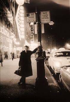 James Dean loitering.