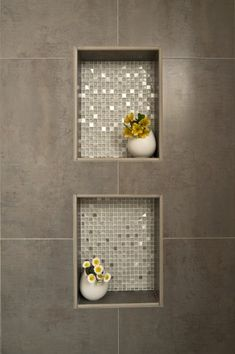 DIY Mosaik-Dusche: So einfach kannst du den edlen Badezimmer-Trend nachmachen! DIY mosaic showers: how to get the bathroom trend going Ideen Bathroom Tile Designs, Bathroom Trends, Bathroom Ideas, Bathroom Interior, Shower Designs, Bathroom Makeovers, Toilet Tiles Design, Bathtub Ideas, Bathroom Furniture