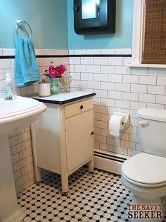 vintage subway tile bathroom | vintage_bathroom