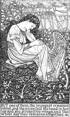 William Morris etching?