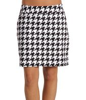 Houndstooth skirt for the fall!  Roll Tide!