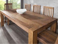 stół drewniany nowoczesny do jadalni