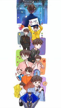 Ideal Boyfriend, Chibi, Fan Art, Kpop, Wallpaper, My Love, Memes, Cute, Anime